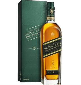 JOHNNIE WALKER GREEN LABEL for sale