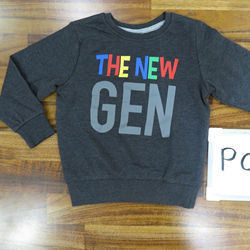 Boys Printed Sweatshirt - Outer Space Color