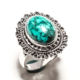 925 STERLING SILVER BULK SUPPLIERS INDIA CLASSY SANTA ROSA TURQUOISE RING