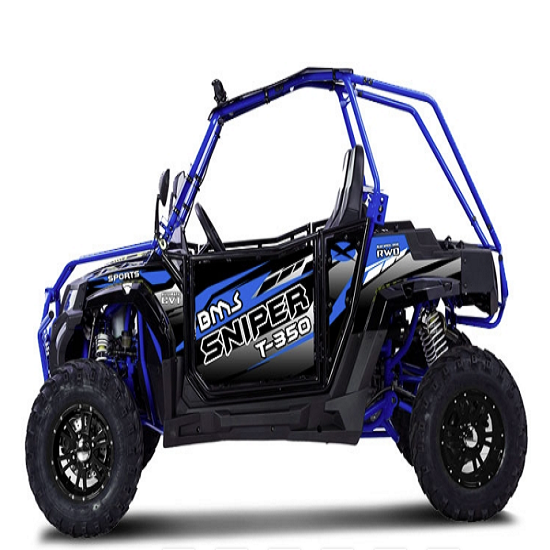 Cheap New Arrival 2021 BMS MOTOR SNIPER T350 SPORT ADULT FULLY AUTOMATIC UTILITY TERRAIN VEHICLE UTV electric available