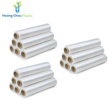 Wholesale The Wrap With Natural Adhesion Thick Plastic Cling Wrap Pe Stretch Film