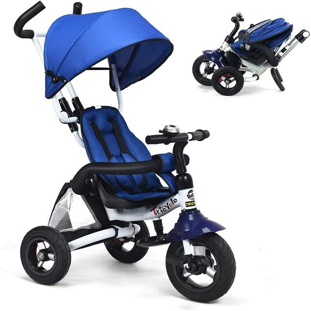 2020 factory wholesale kids double seat tricycle two seats baby tricycle kids ride on car with back seat