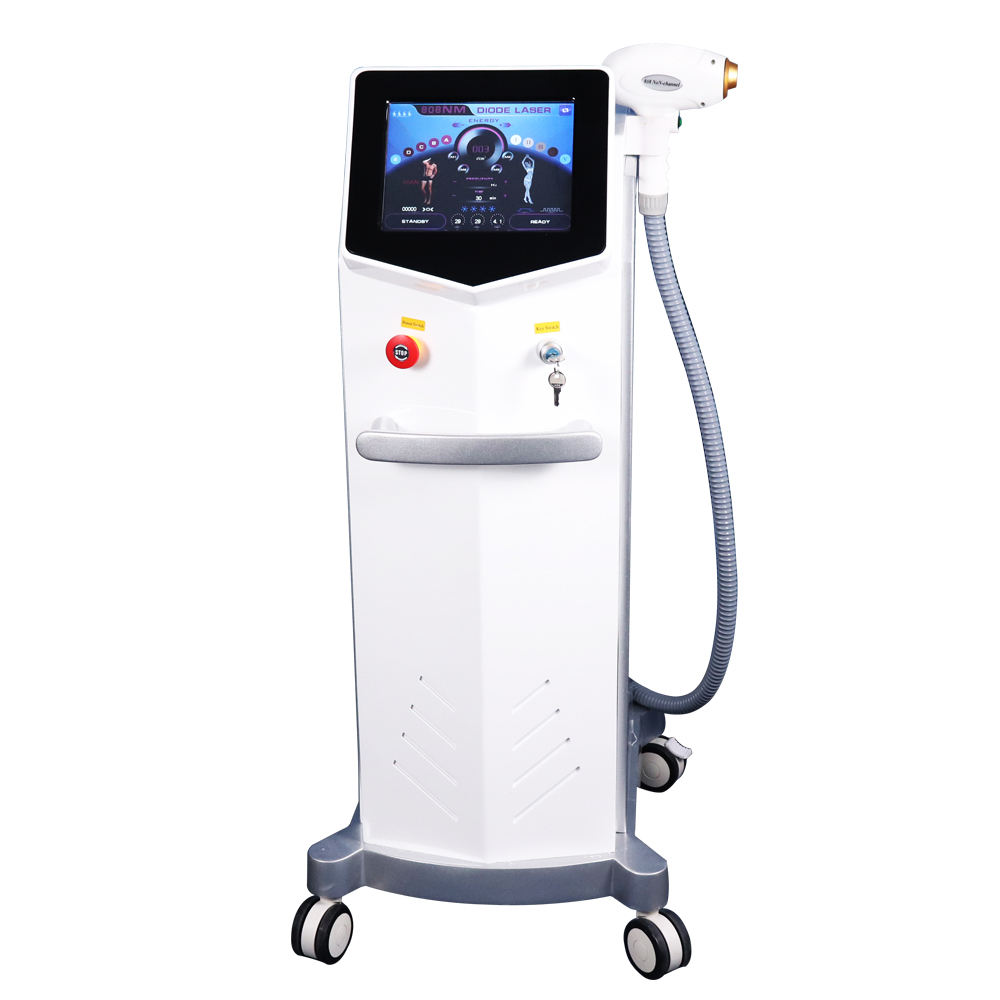 2019 Permanent Hair Remover Alexandrite Laser 3 Wavelengths 808 755 1064 Diode Laser Hair Removal