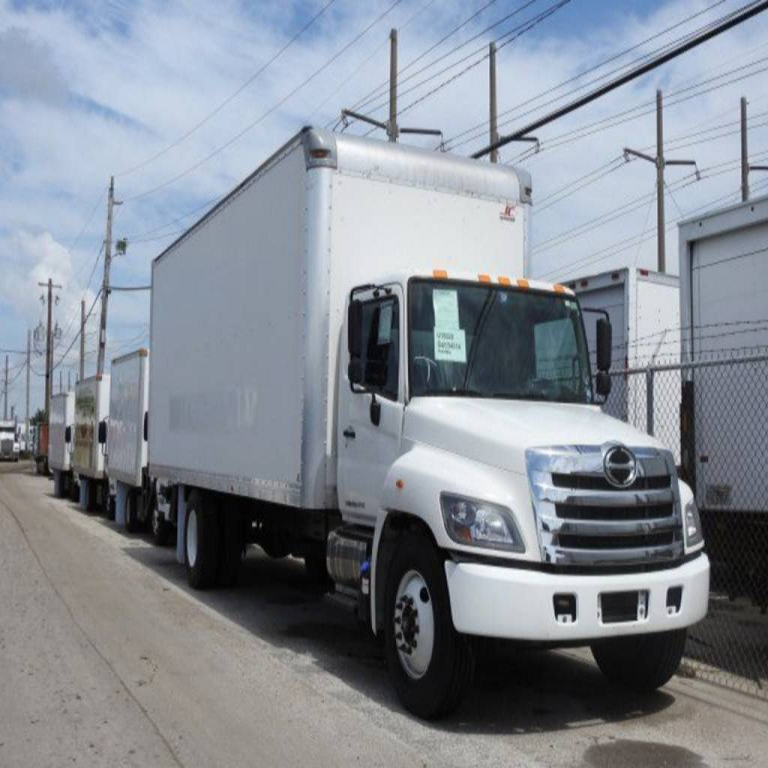 For Sale 2016 HIN0 238 Box Truck - Straight Truck, Cargo Van Available at an affordable price