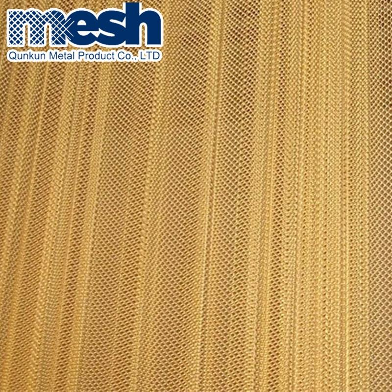 Coil Drapery Wire Mesh Curtains & Curtain Outdoor Metal Mesh