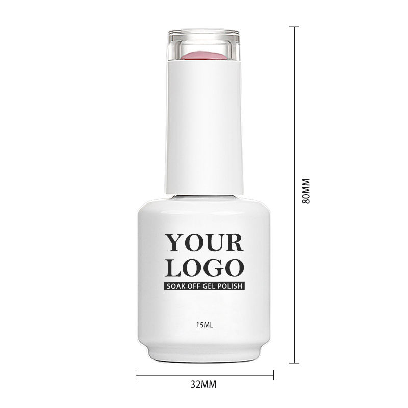 Latest bottle shapes OEM available 900 colors in all gel nail polish private label
