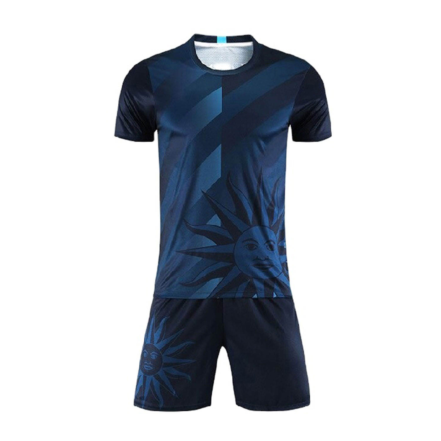 Uniform <span class=keywords><strong>Voetbal</strong></span> Custom Made Hoge Kwaliteit Jersey Teal Polyester <span class=keywords><strong>Club</strong></span> Uniform Groene Voetbalshirts <span class=keywords><strong>Kits</strong></span>
