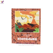 High Quality Pop Up Memory of dinosaurs Customized Design Paper Cutting printing Books