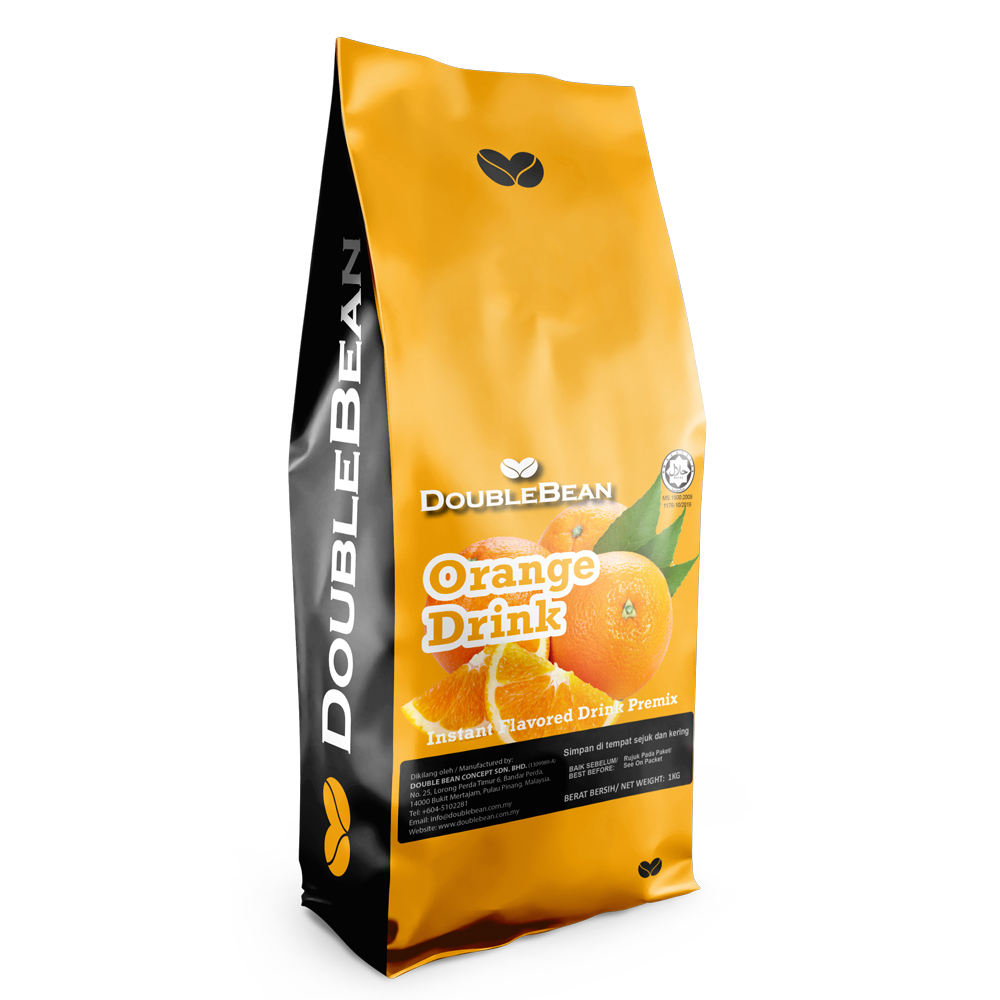 High Quality Orange Juice Drink Instant Natural Flavored Fruit Juice Powder Mix