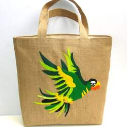 Export Oriented Jute Tote Hand bag For Ladies