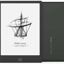 NEW BOOX Note2 10.3 E-Ink Tablet ePaper, Android 9.0,Front Light, Fingerprint Recognition, 5GHz WiFi, OTG Capacity E-Reader