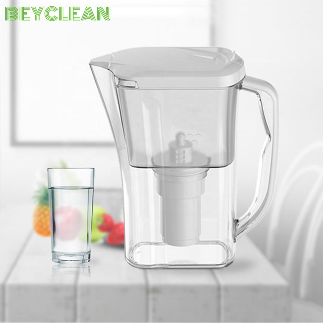 Household Alkaline Water Filter Pitcher with Active Carbon Cartridge