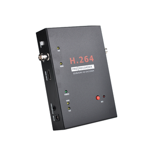 H.264 Pro Recorder, SDI & HDMI Encoder - 2K - Just Connect to your Laptop for the LIVE Streaming and Recorder Function- Reliable