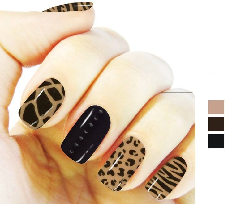 Korean Gel Nail Sticker Non-Toxic Long Lasting Gel Nail Strips Made in Korea OEM ODM Available