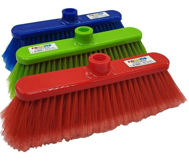 Plastic Broom Low Price Good Quality Italian Balai Brosse Scopa Brush