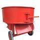 Portable concrete mixer 350L