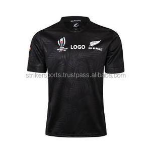 New Zealand All Black Rugby Jerseys 2019 World Cup Rugby wear