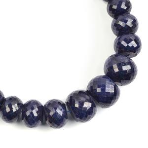 Sapphire Drilled Slice Beads Gemstone Jewelry Zs 3227 Unique  Sapphire Beaded Beads Gemstone Price For One Strand