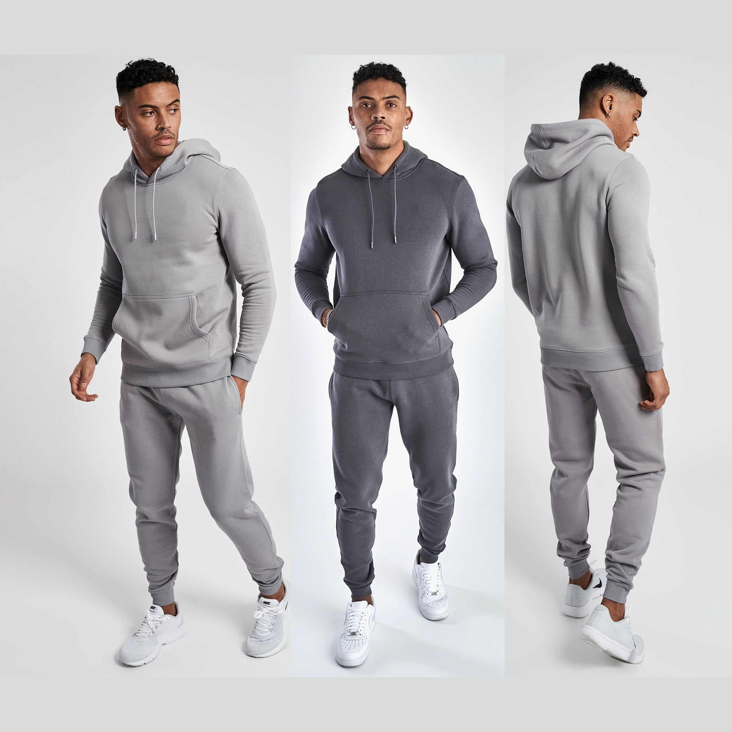 Sweatsuit/Jogging <span class=keywords><strong>Trainingspak</strong></span>/Katoen Fleece Sportkleding Tech Fleece Jas Fitness