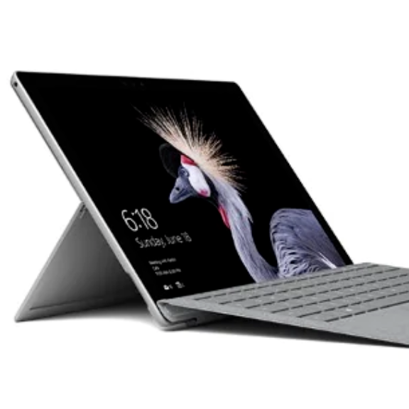 @ @ Mikrosofts Surface Pro Asli, Papan Ketik Kulit 7-256GB/512GB-Intel Core I7 dengan Keyboard