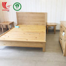 New Product Oak Wooden Bed, Beds For Home Wholesale made in Vietnam