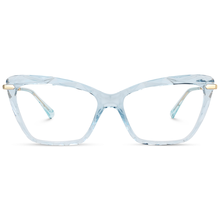 Fashionable Women TR90 Cat Eye Crystal Multi Colors Computer Readers Reading Eyeglasses Optical Eyewear