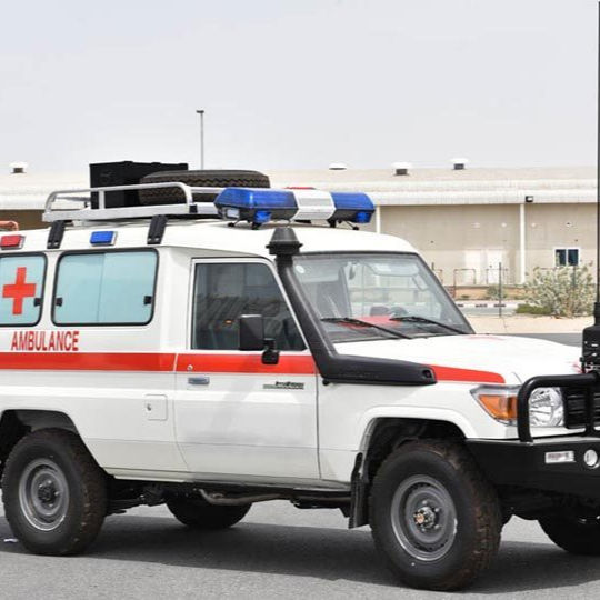 2019 Land Cruiser Hardtop ambulans