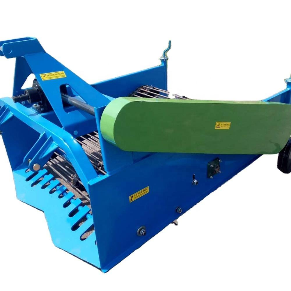 CE proved 4U-130 two Rows Potato Garlic Carrot mini combine harvester