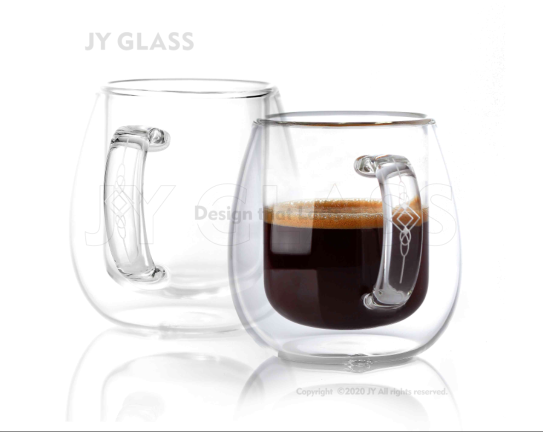 Double Walled Glass Insulated Espresso French Coffee Cups