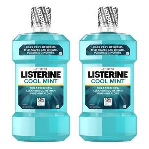 /Listerine/Collutorio Disponibile In Originale/Fresco di Menta/Scoppio 2020