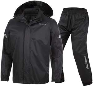 Rain Suit with tape sealing and best quality waterproof rain Suit waterproof jacket waterproof pant motorcycle & workwear