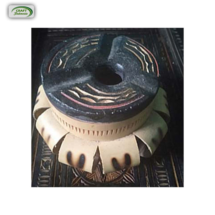 Excellent Quality Durable Crafted Bamboo Ashtray at Competitive Price