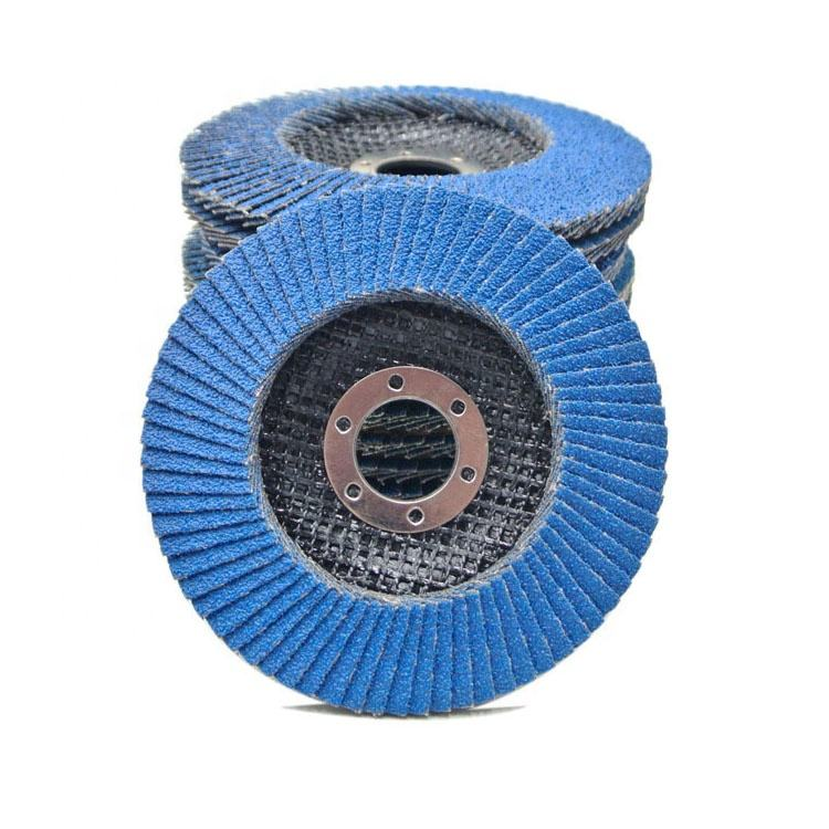 SATC 20-PACK Premium 115 mm Flexible Abrasive Flap Disc Mixed Grits of 40/60/80/120 for Steel