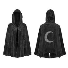 PUNK RAVE college jacket women korea fashion winter coat dark velvet cloak jackets OPY-341