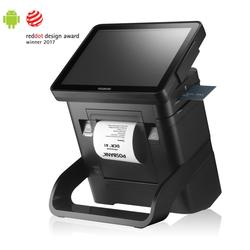 "POSBANK DCR A1 Super Compact All In One POS Terminal with 9.7"" PCAP Touch Screen"