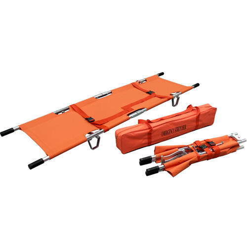 Hospital Emergency Four Fold Stretcher and Four Fold Stretcher Used in Hospital