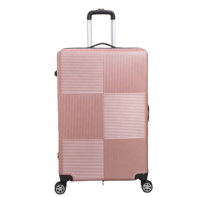 Cheap Jiangxi Factory Luggage ABS Travel Suitcase Leisure Valise Trolley Bag