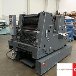 Used GTO 52 ZP two color offset printing machine
