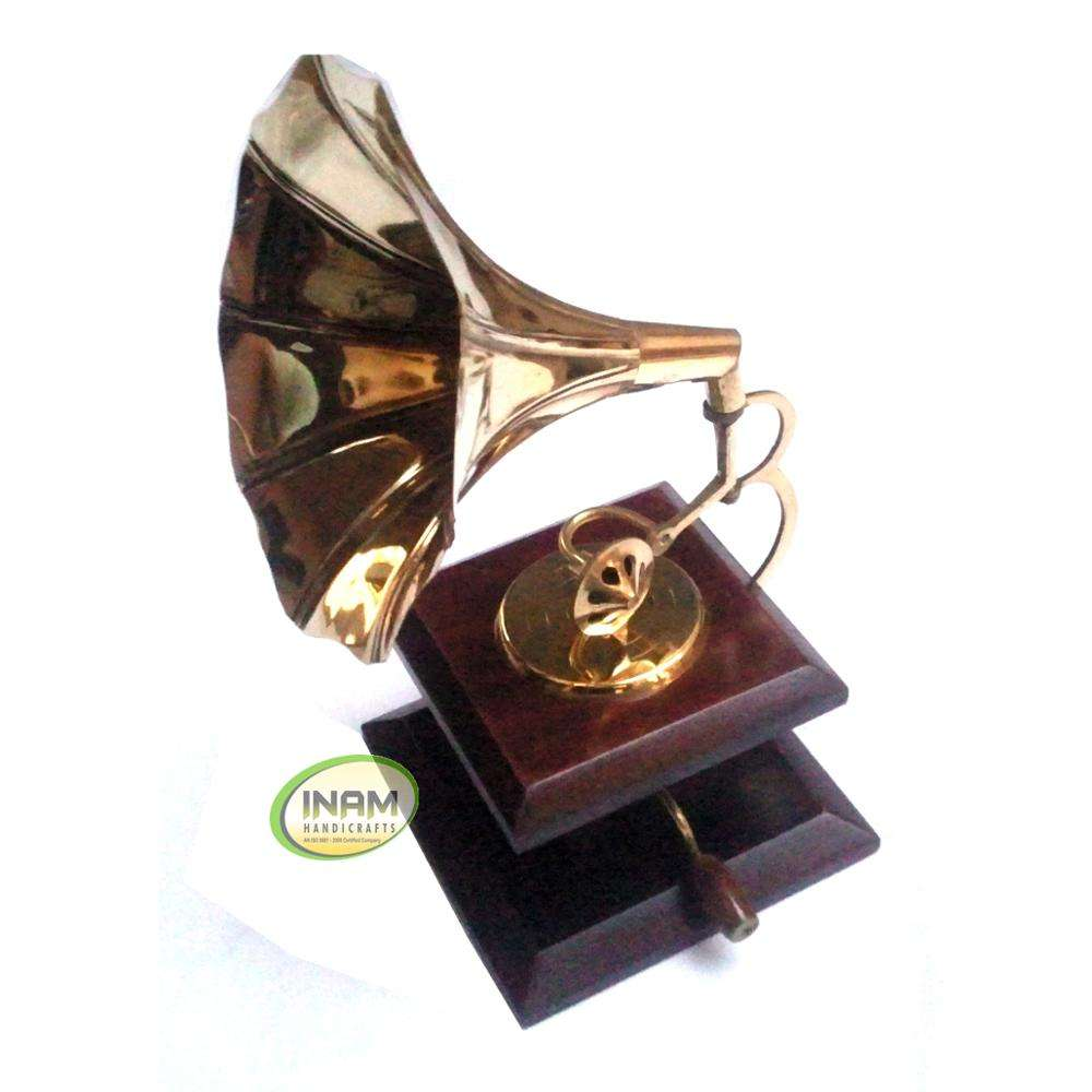 Antique beautiful and designer handmade Best Gramophone Gift product Fresh arrival 2021INAM HANDICRAFTS