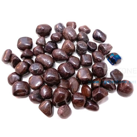 Garnet Tumbled Agate natural stone