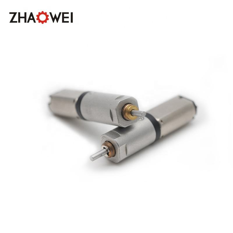 8mm micro dc brushless gear motor with reduction planetary gearbox 200 rpm gear motor
