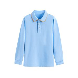 Wholesale accept OEM service blank baby white polo t-shirts kids boy