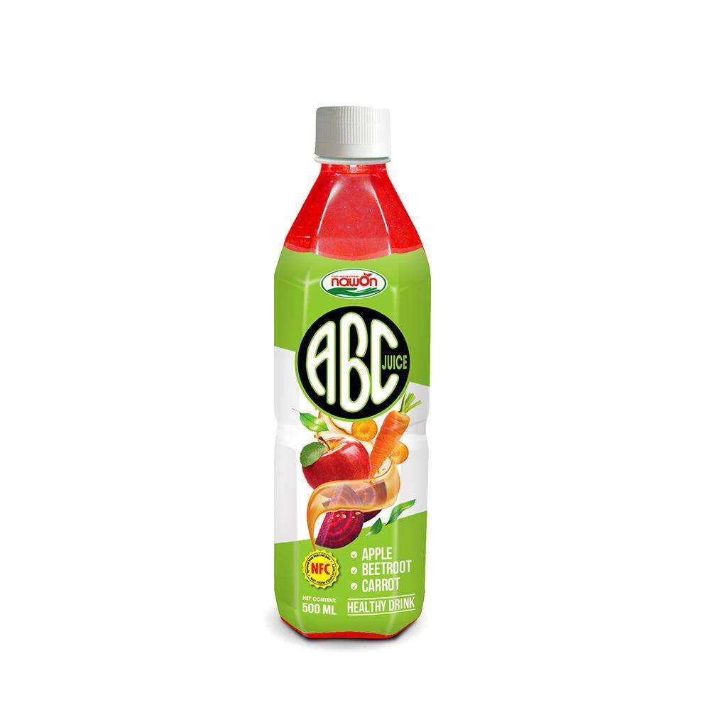 500ml NFC Healthy Drink Apple Beet Carrot juice
