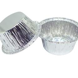 Durable Quality Disposable Aluminum Foil Bread Cup | Perfect for Baking, Freezing, Broiling & Preservation | 4 Oz. (100 Pk)