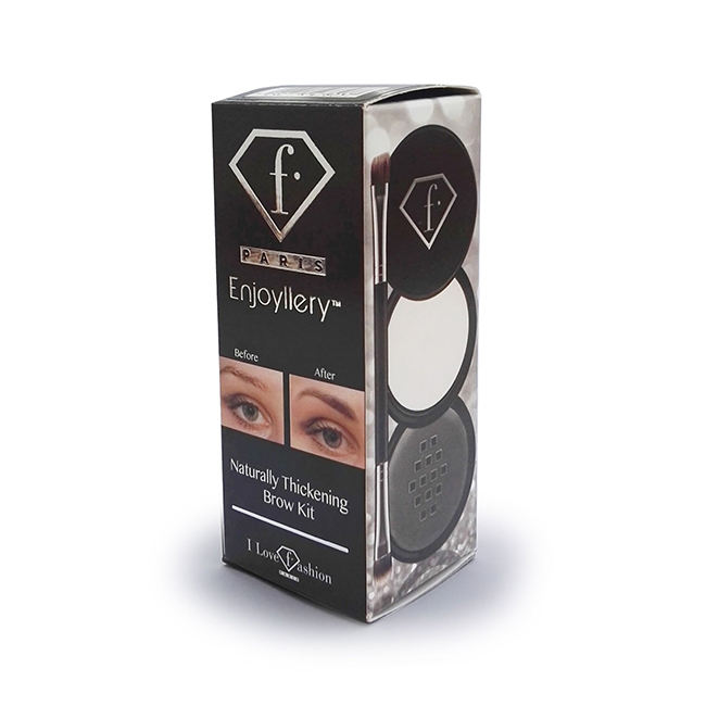 Top Quality Dark Brown Powder Thickening Eyebrow Enhancer Kit from Fashion-TV Cosmetics