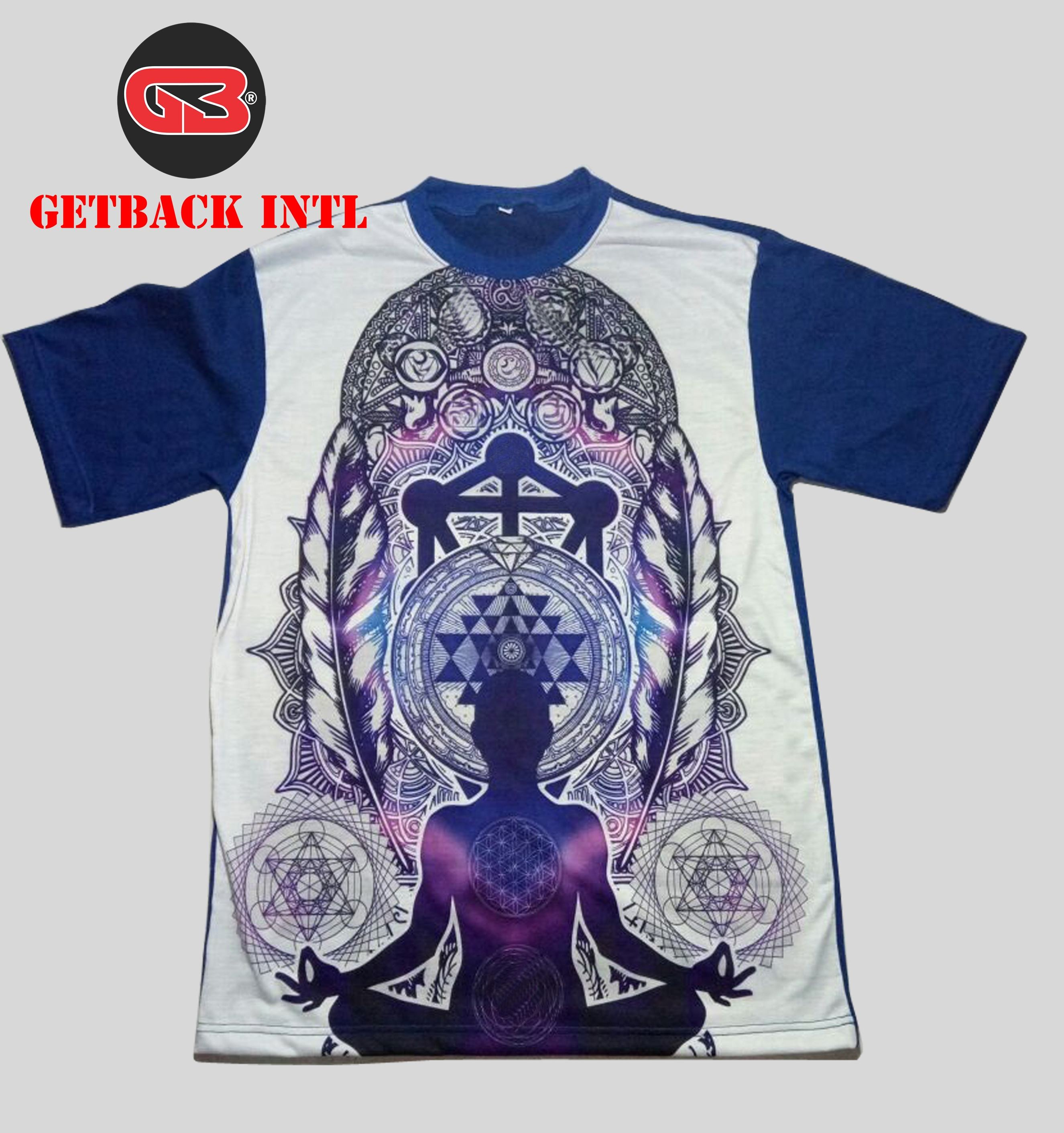 Custom All Over Sublimation T-shirts / Sublimation T-Shirt Cotton