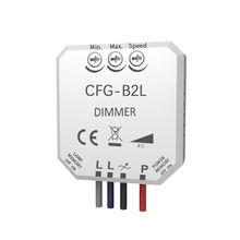 Bell Press Box Dimmer 250w LED Universal Dimmer Switch Trailing Edge Memory Functions