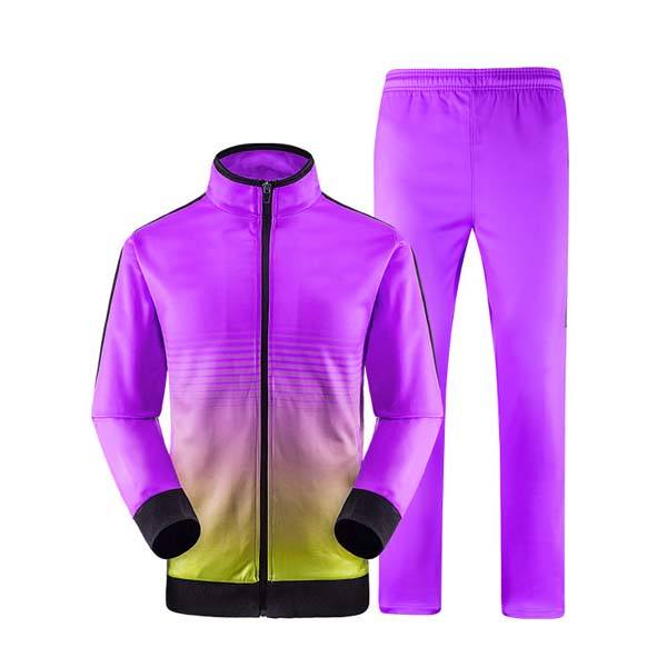 Fashionable Sublimated Training/Track Suits For Running/Jogging And Sports Use With Pockets
