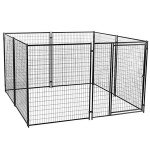 Customized Size Premium Welded Wire Mesh Dog Kennel Outdoor House Cages Pet Metal Cage Dog Pen