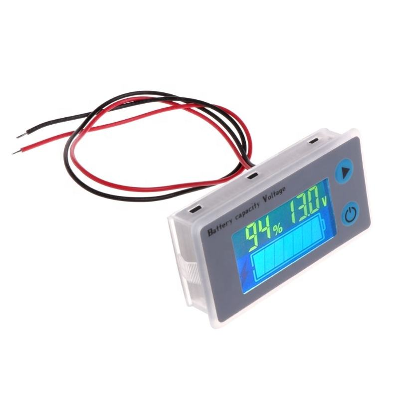 JS-C33 10-100V Universal LCD Car Acid Lead Lithium Battery voltage Capacity Indicator meter tester